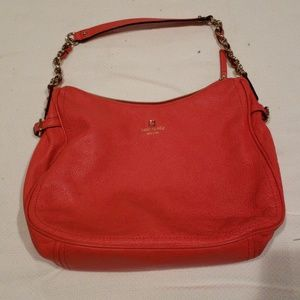 Kate Spade Geranium Red Shoulder Bag